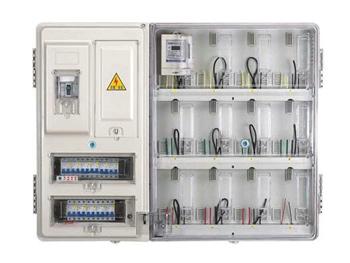 户外透明电表箱