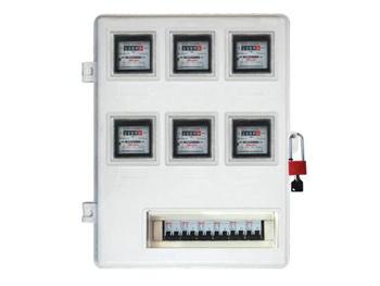 六户式电表箱